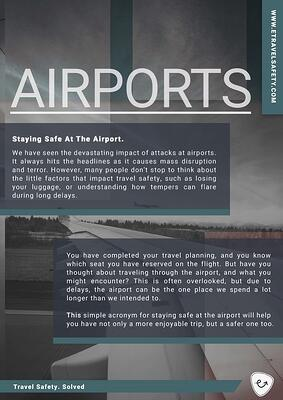 Airport Safety eTS Travel Safety Guide